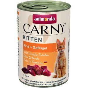 animonda Carny Kitten Katzenfutter, Nassfutter für wachsende Katzen bis 1 Jahr