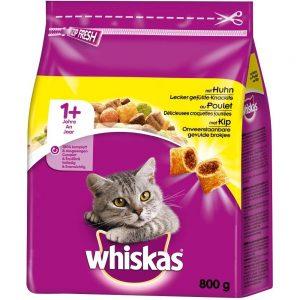 Whiskas Katzenfutter Trockenfutter, verschiedene Sorten und Größen