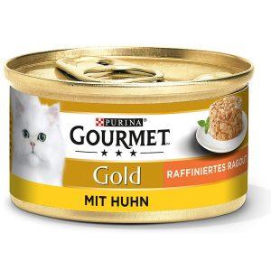 PURINA GOURMET Gold Raffiniertes Ragout Katzenfutter nass, verschiedene Sorten, 12er Pack
